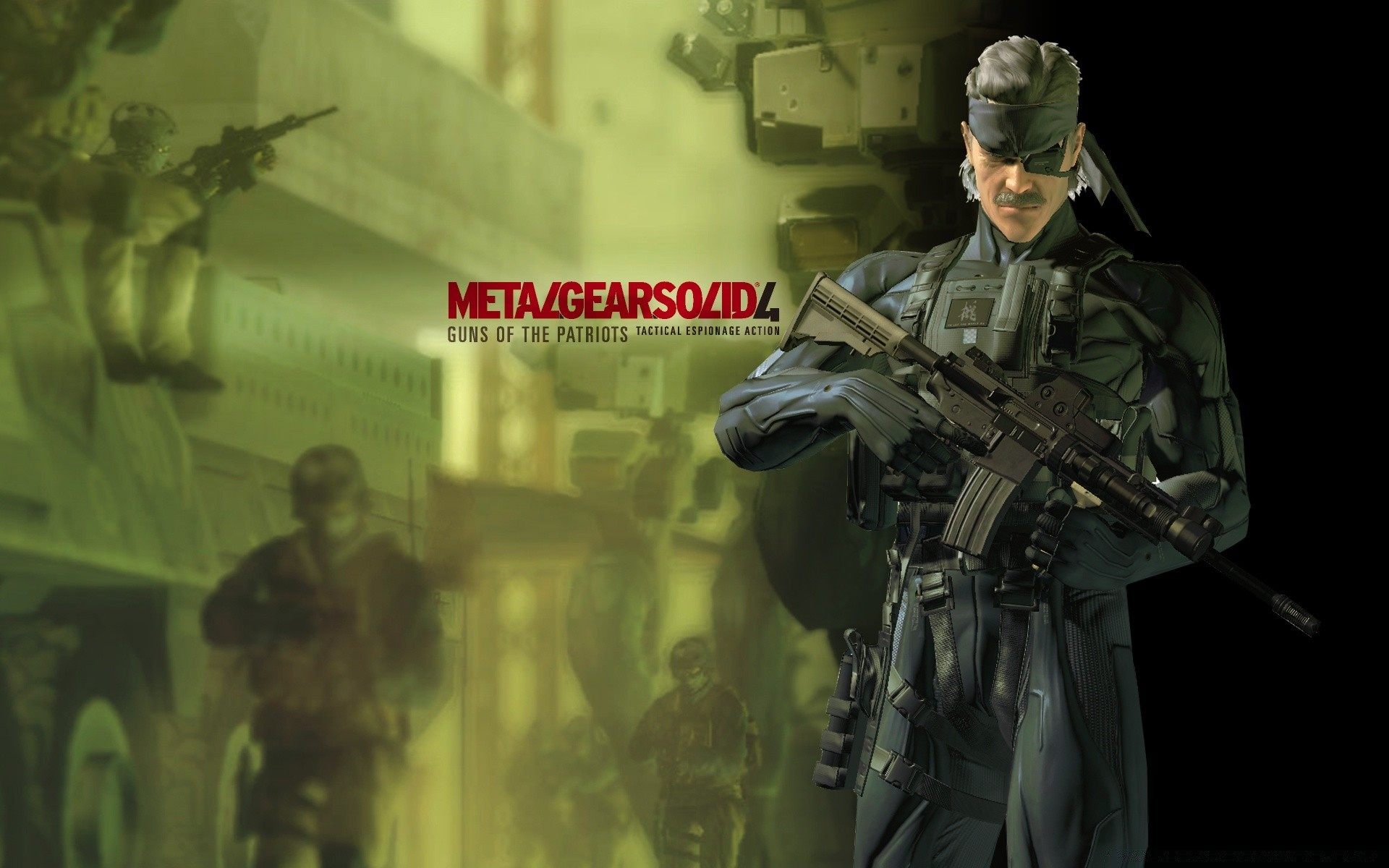 Metal Gear Solid пушки патриотов