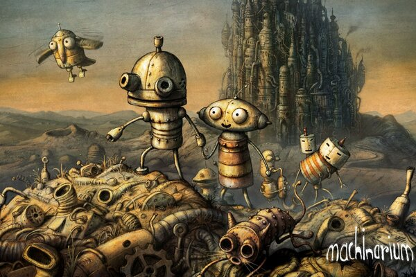 Крышка, Machinarium игра