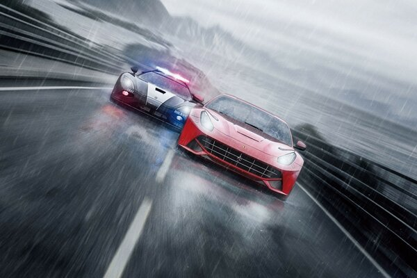 Need For Speed ​​соперников