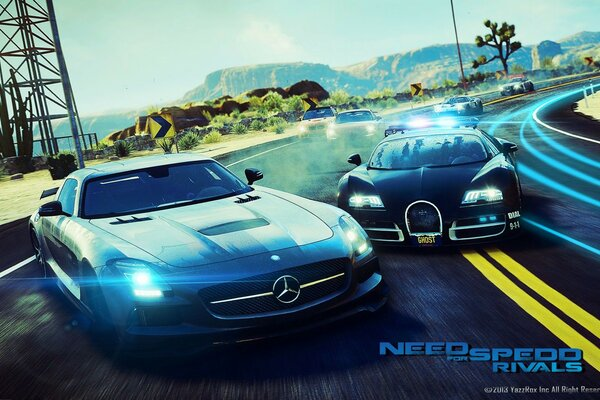 Need For Speed ​​соперников 2013
