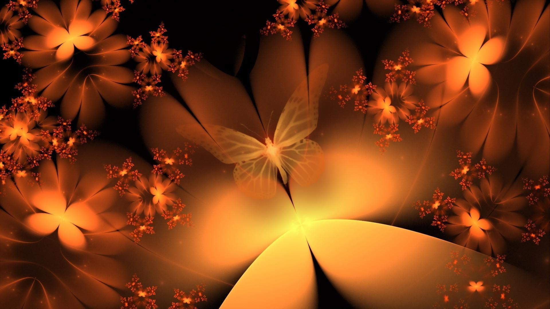 Открытки с мерцающим фоном, картинки бабочки