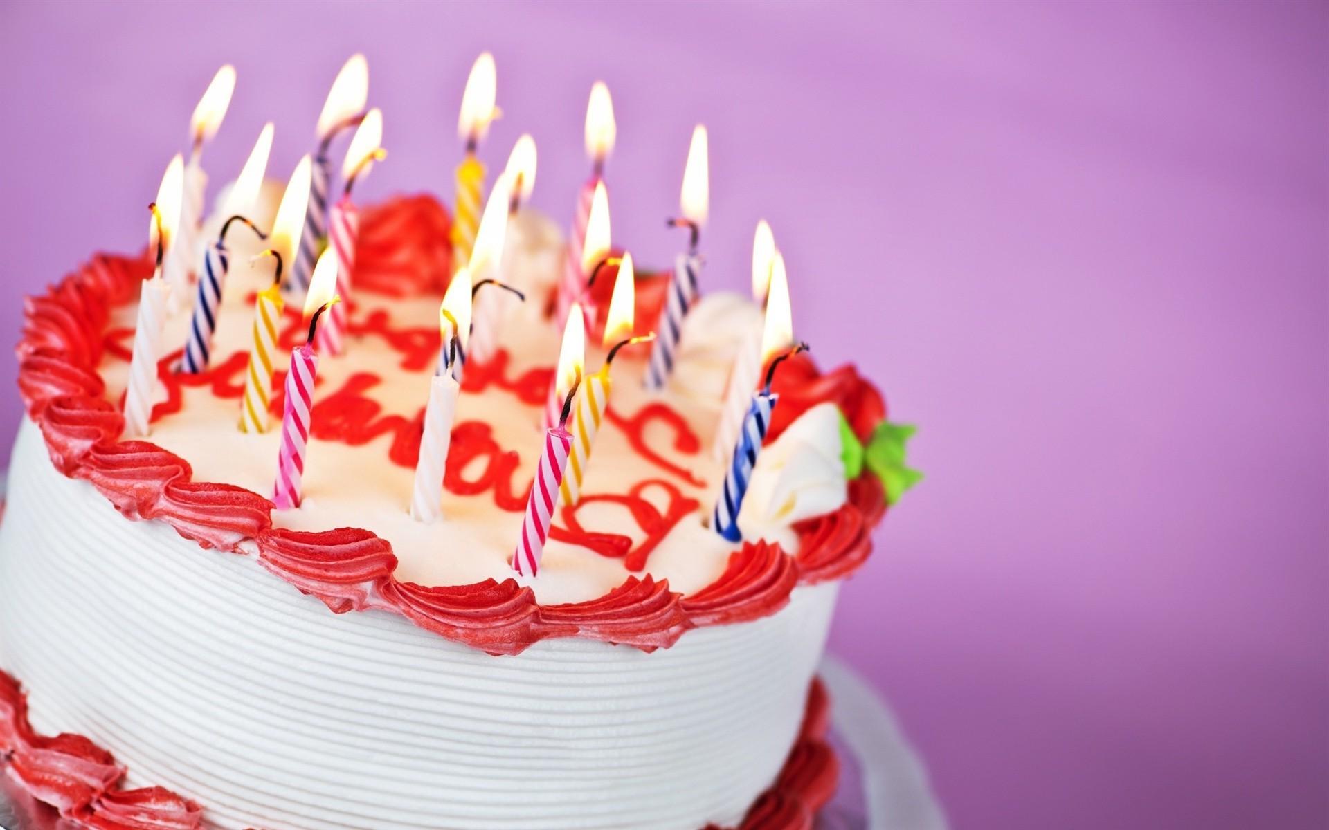 Открытки с тортиком на день рождения, нарисованные картинки