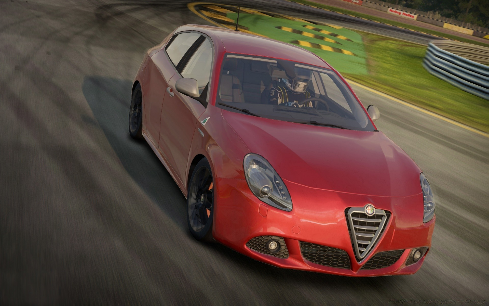 Need For Speed ​​Shift 2, Alfa Romeo Giulietta QV
