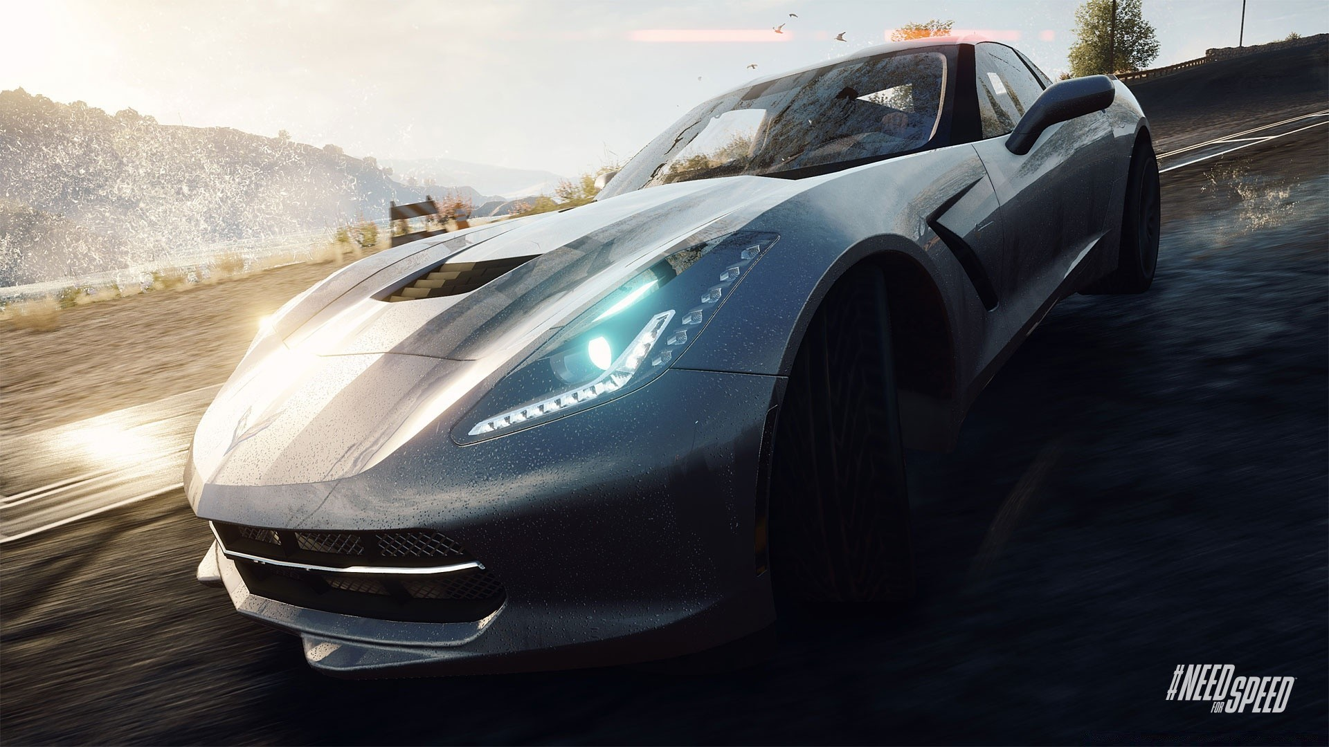 Need For Speed ​​соперников Corvette Stingray