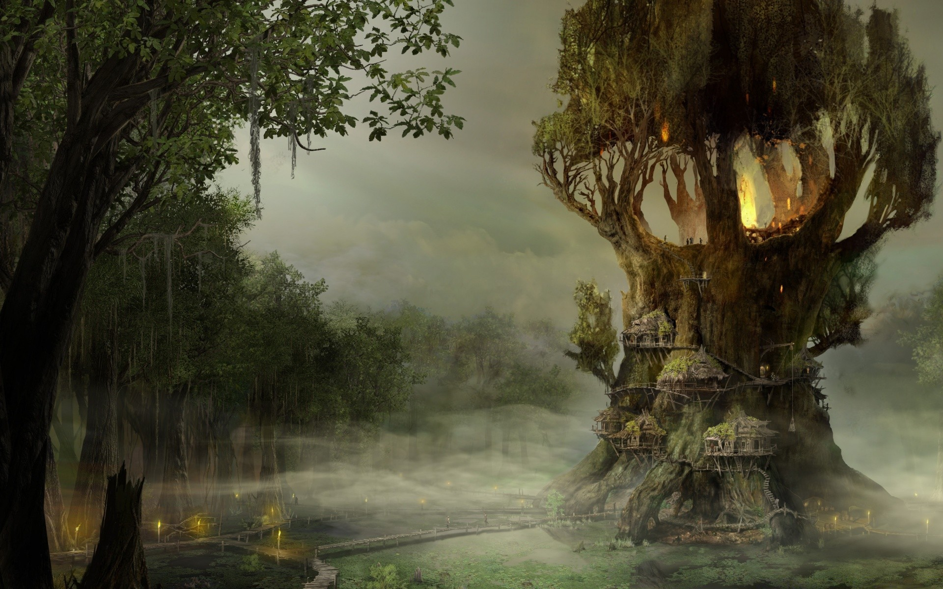 пенсильванию картинки деревья фэнтези время
