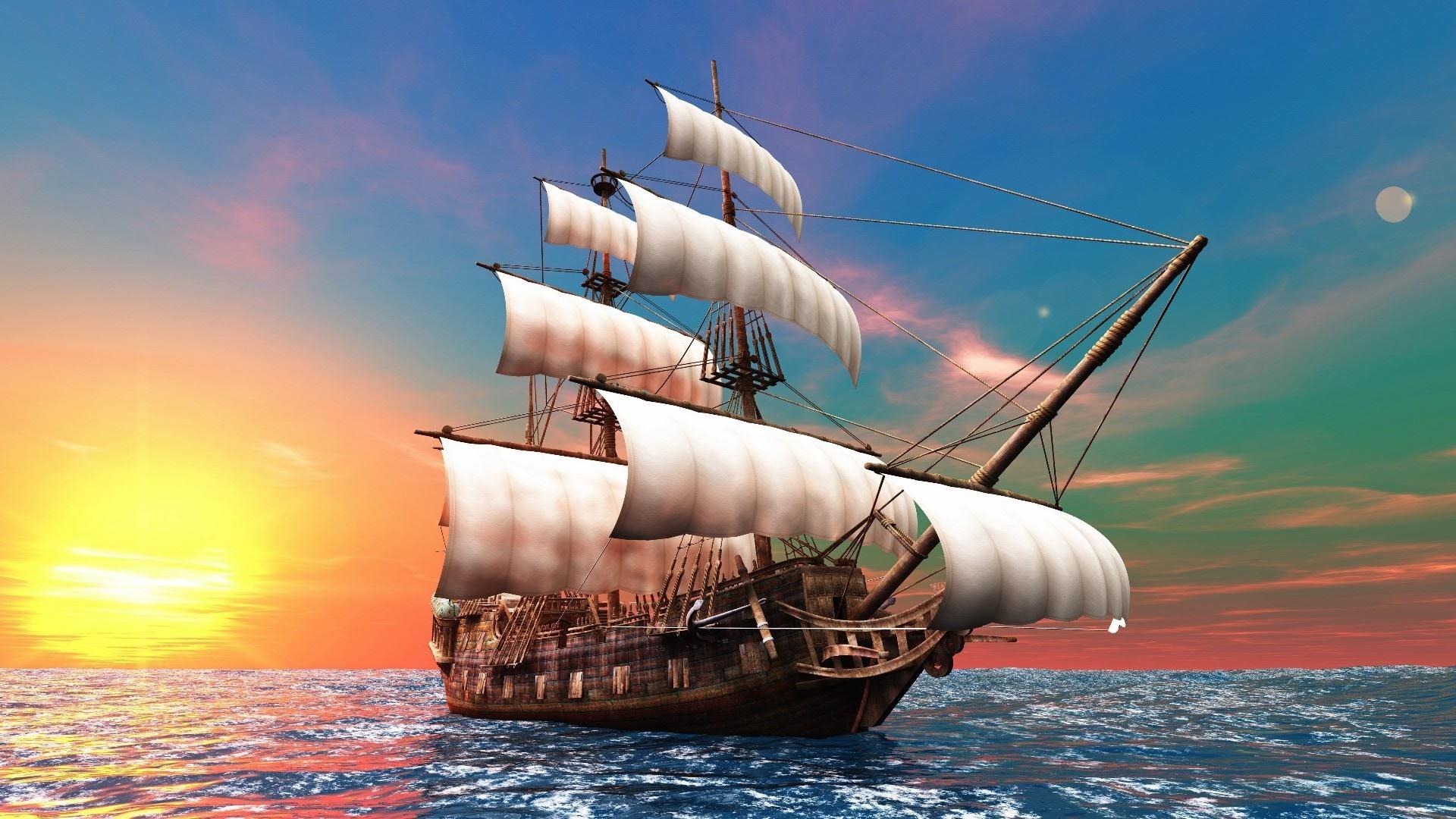 Картинка корабль на телефон обои