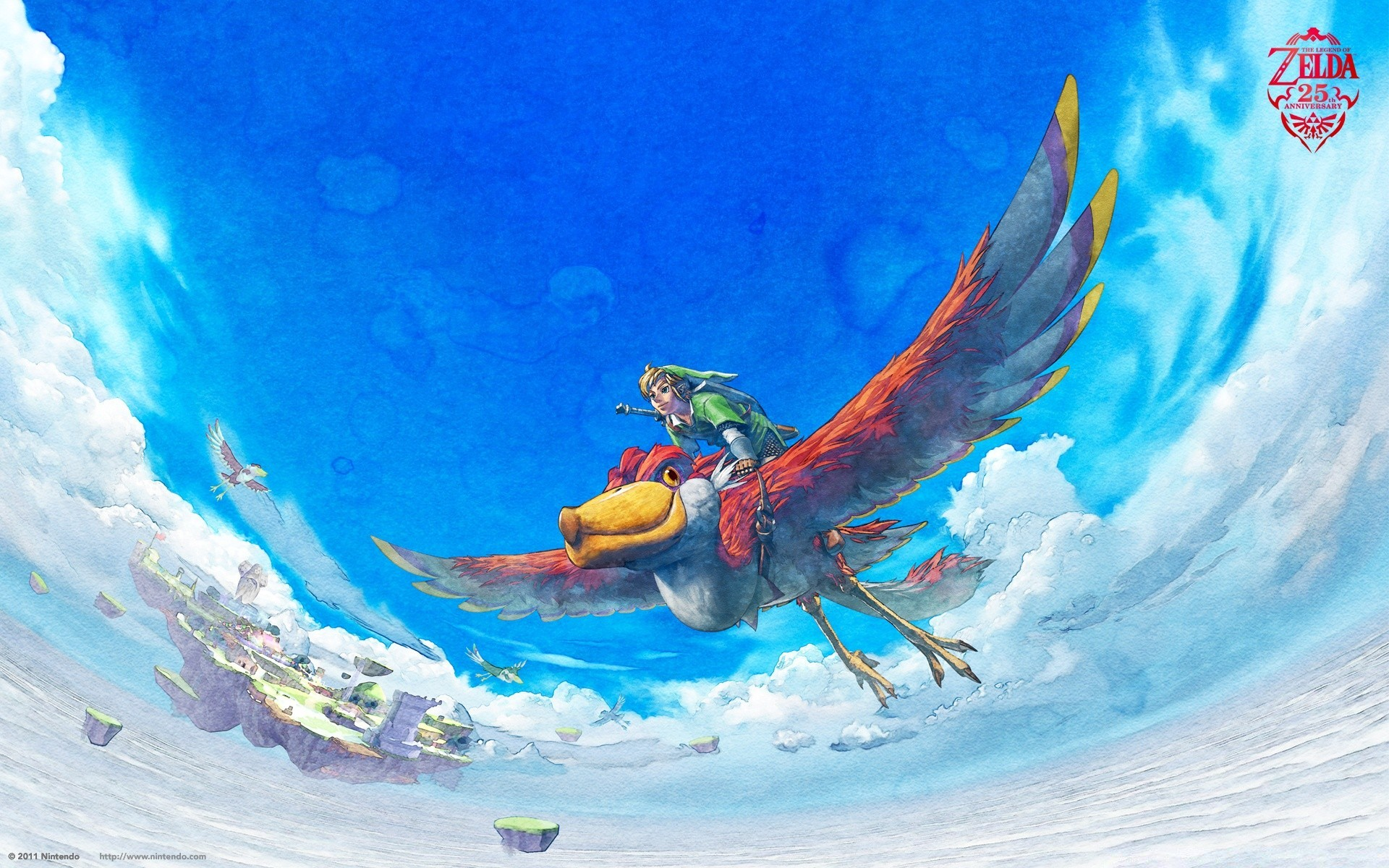 Flying whale zelda
