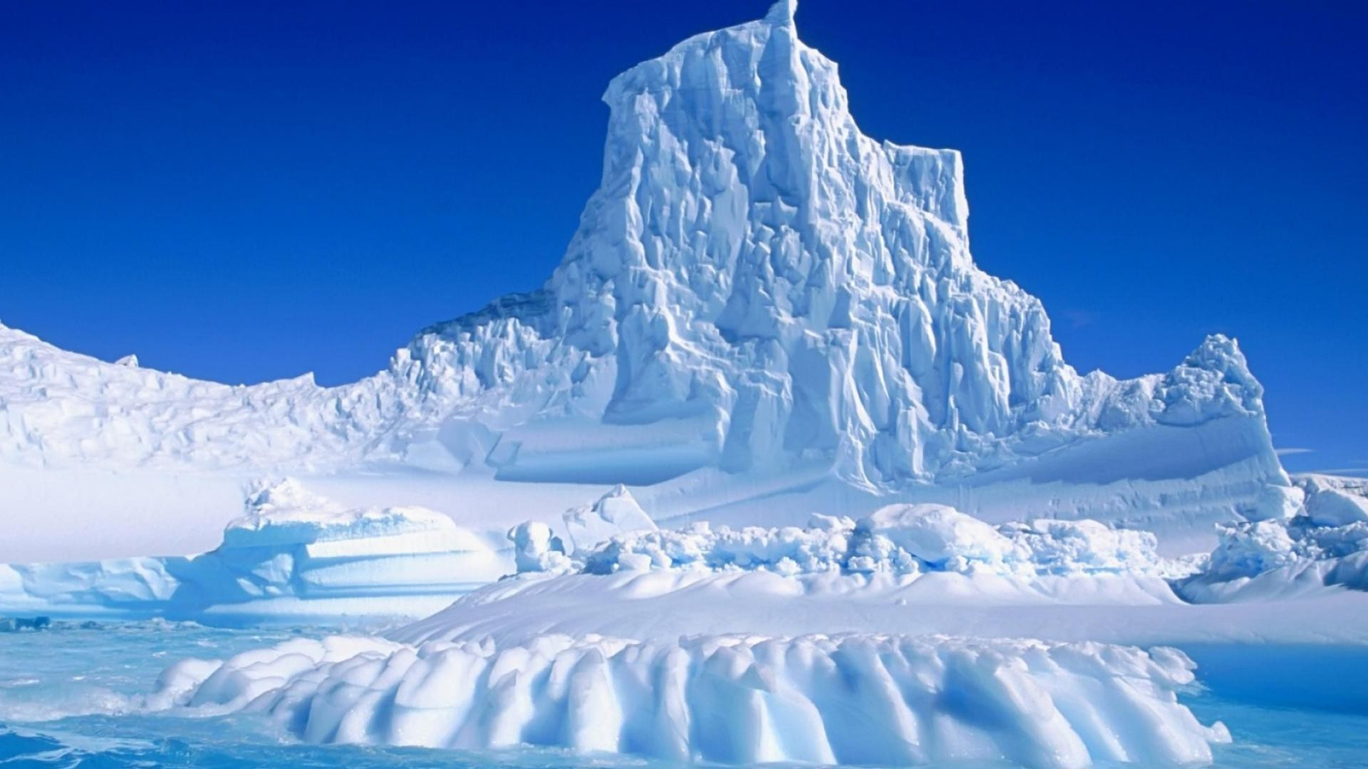 природа снег горы айсберг nature snow mountains iceberg в хорошем качестве