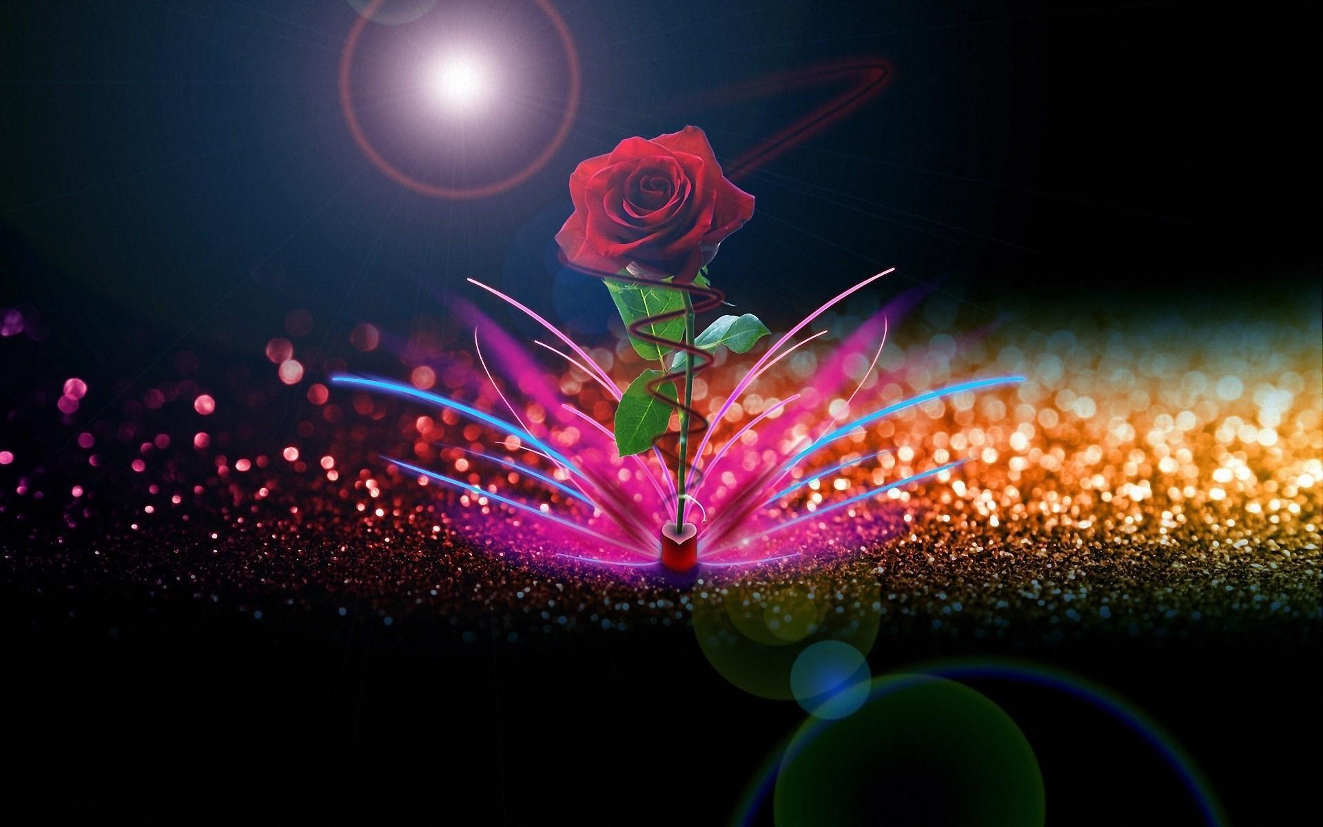 Красивые светящиеся открытки, поздравительных