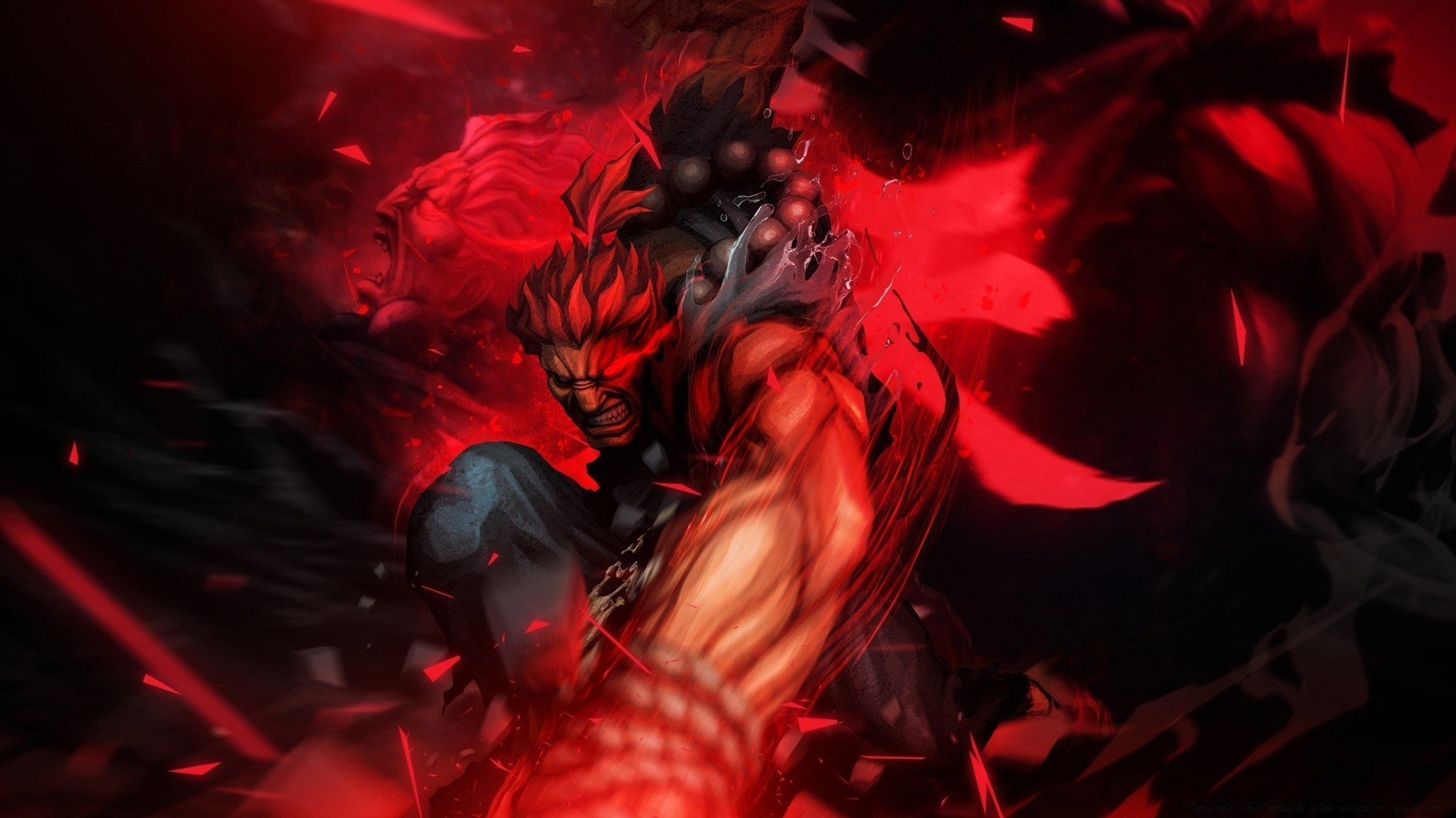 Street Fighter X Tekken - Akuma