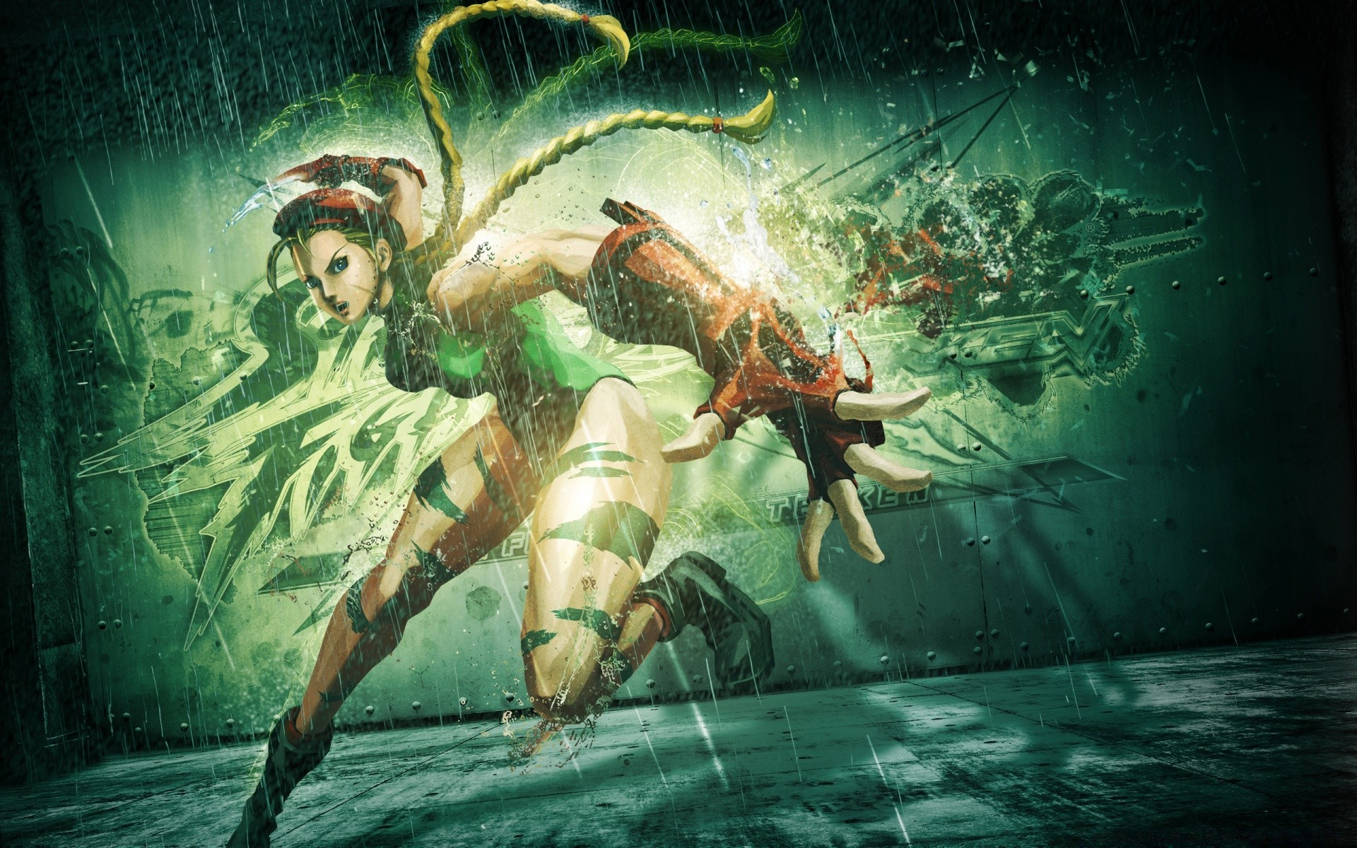 Street Fighter X Tekken (2012) Cammy
