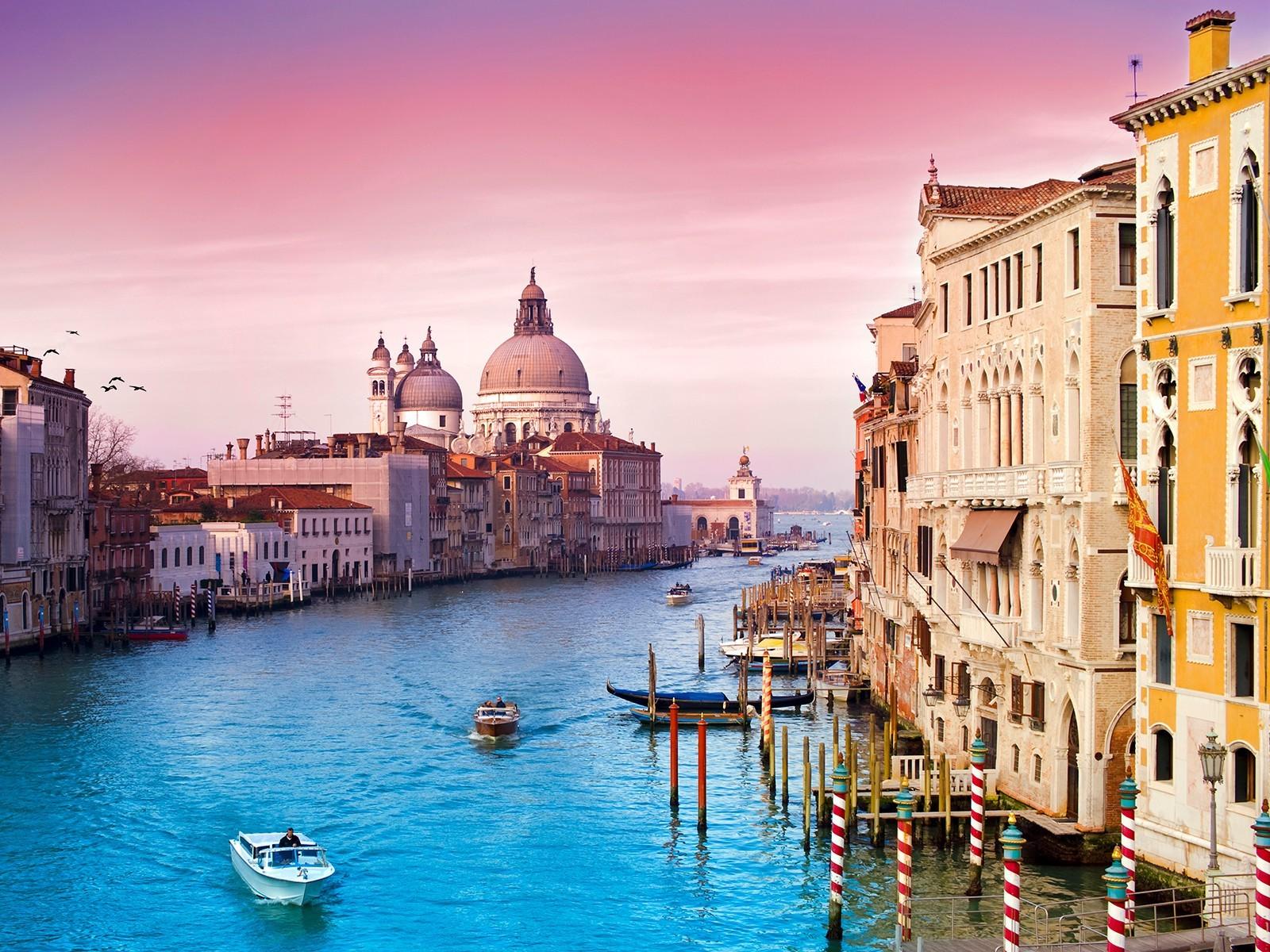 Обои кафе, канал, венеция. Города foto 17