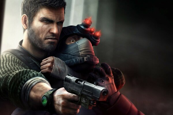 Убеждение Splinter Cell Тома Клэнси