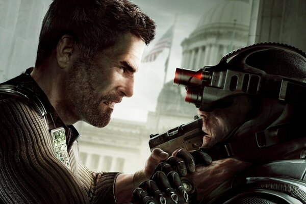 Splinter Cell Тома Клэнси