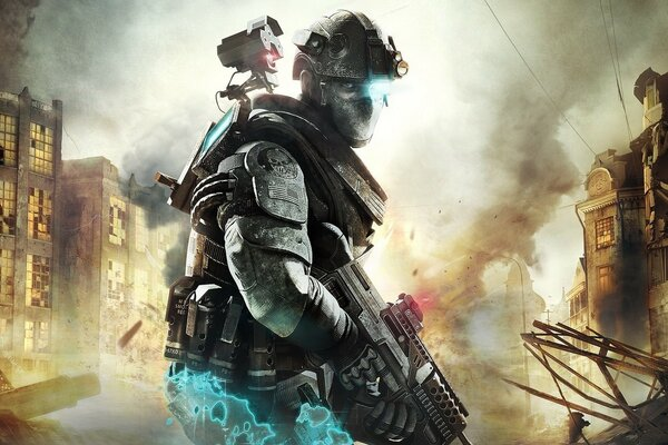 Ghost Recon Future Soldier Тома Клэнси