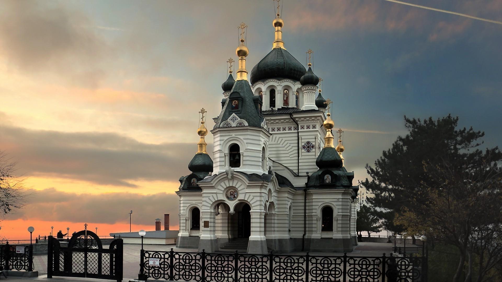 Обои церковь, купол. Города foto 11