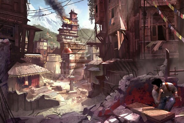 Uncharted 2 Among Thieves игры