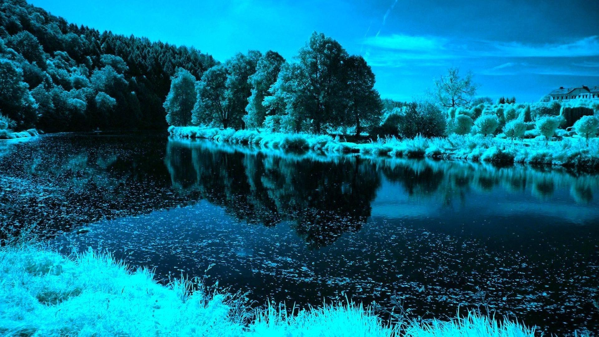 Река в сумерках подборки