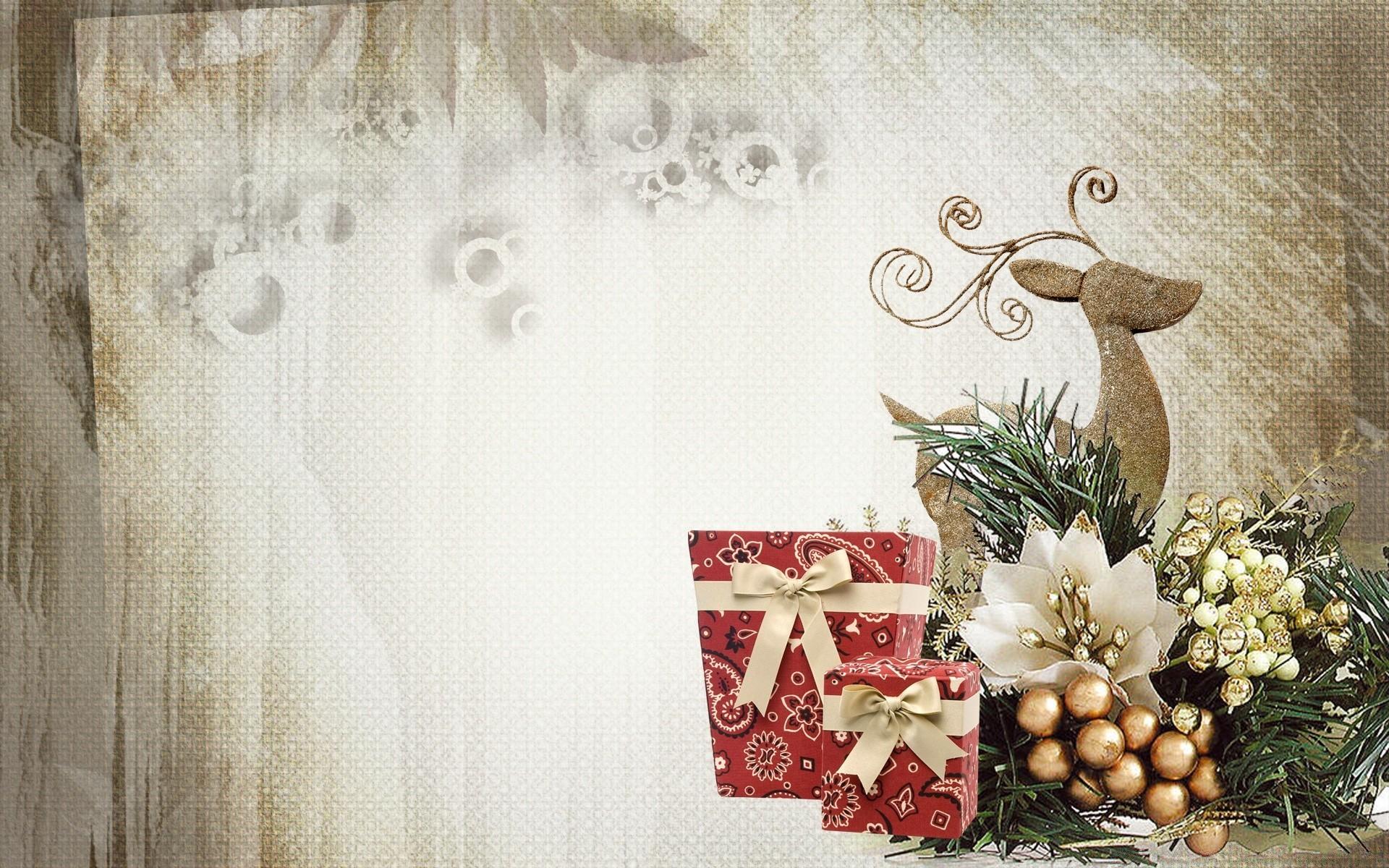 Стильные открытки рождество