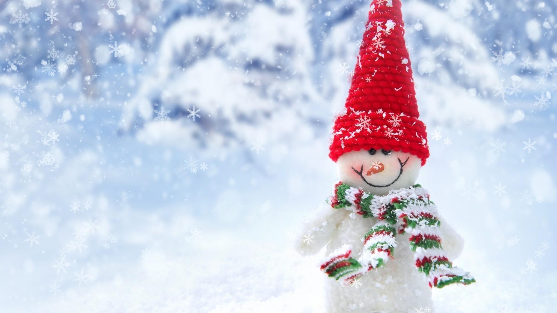 Обои На Телефон Зима Снеговики