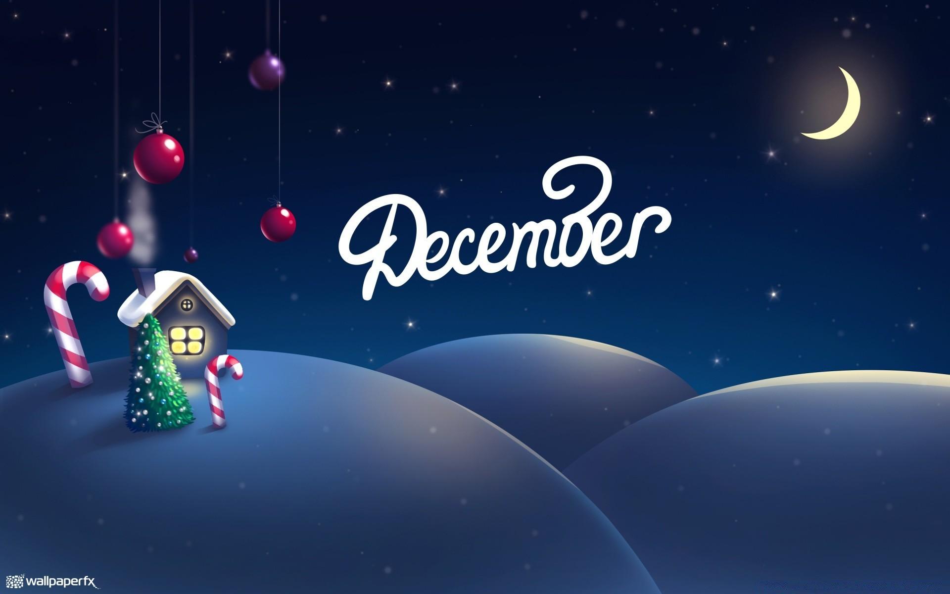 Декабрь новый год картинки на рабочий стол на весь экран
