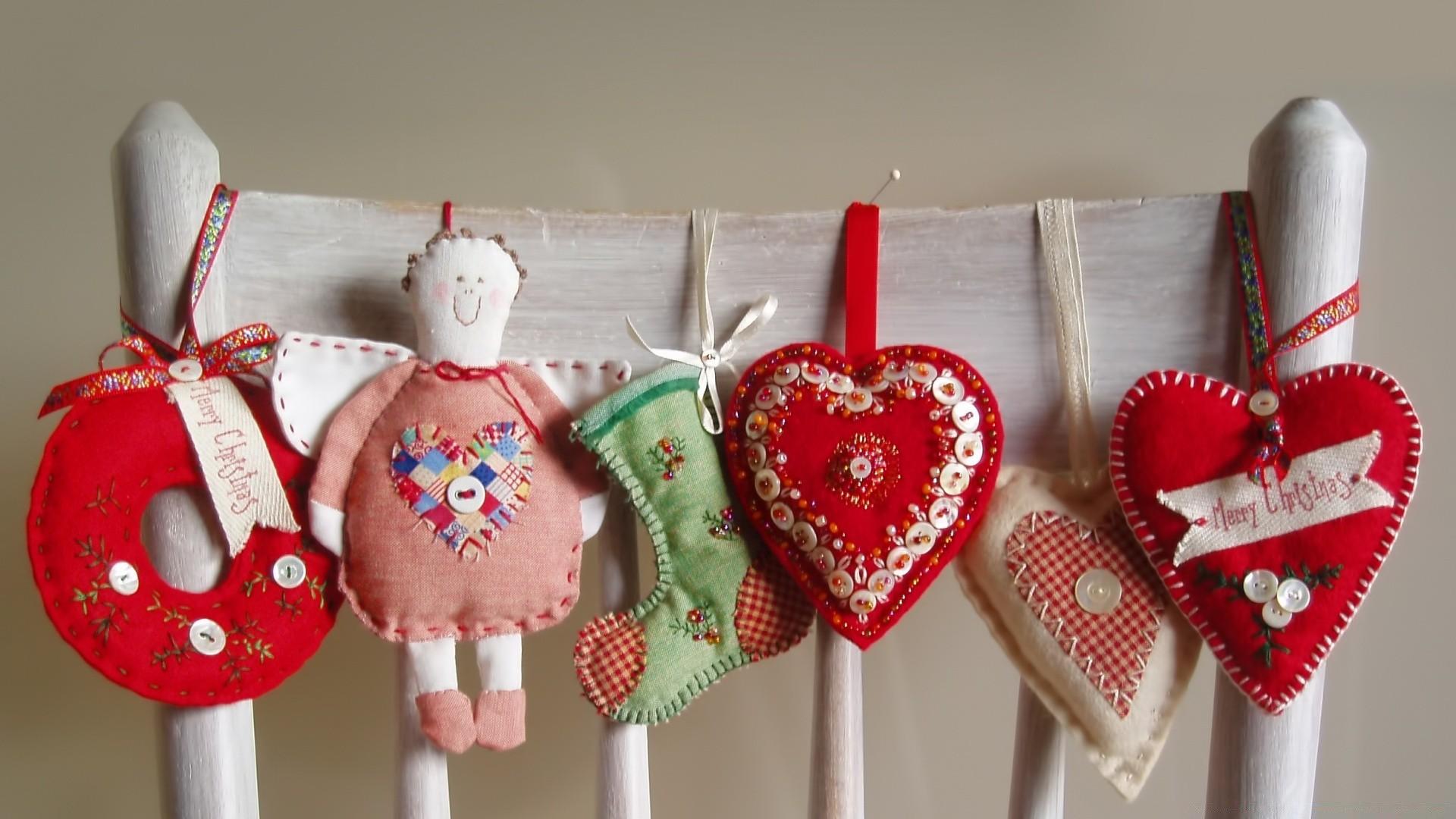 Рождественские вещи своими руками