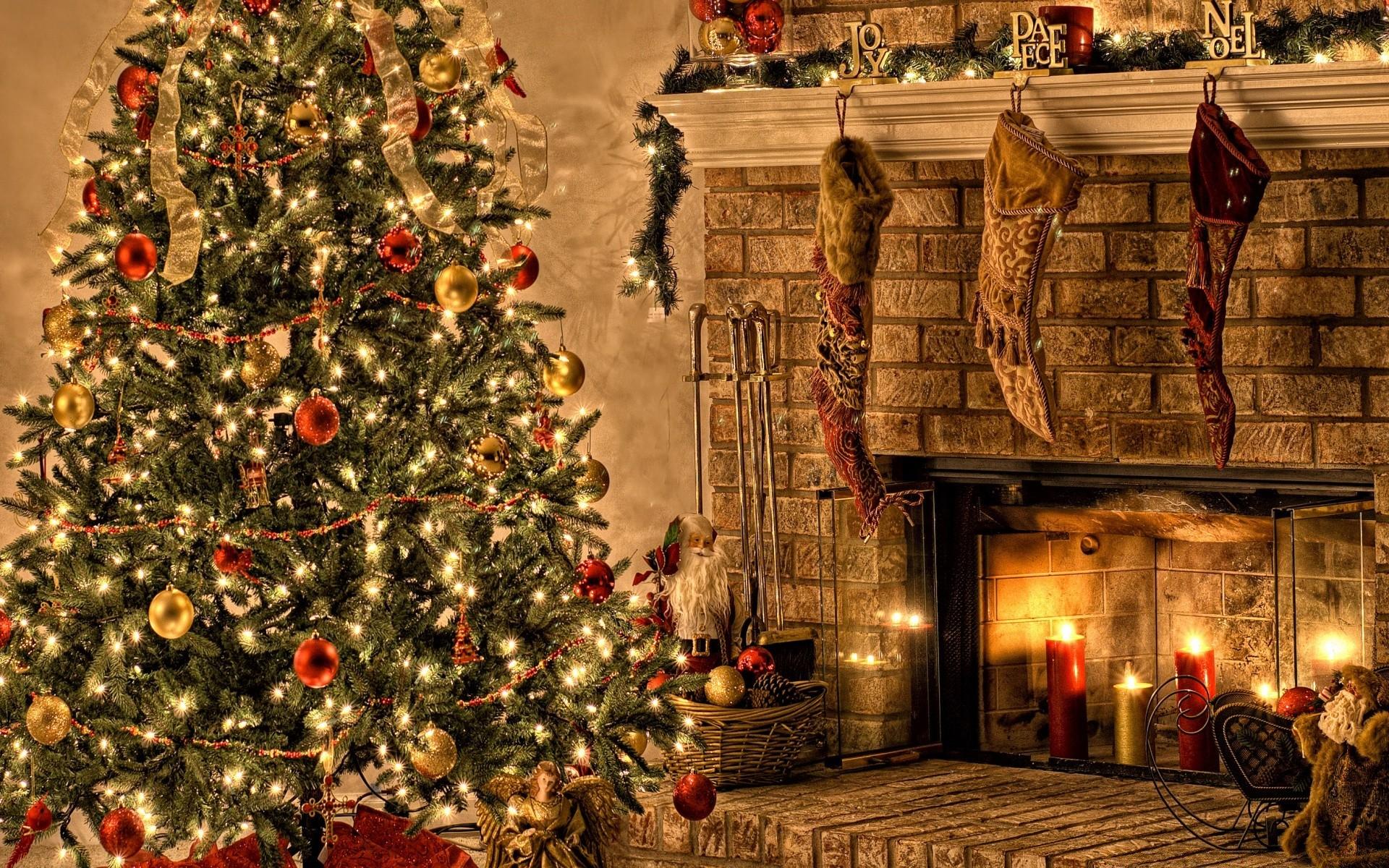 рождественские картинки рабочего стола