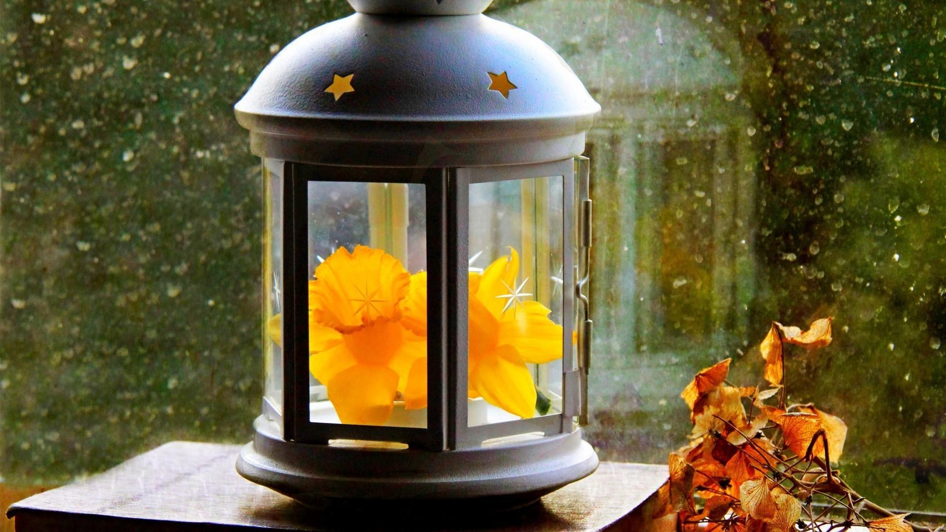 Картинки за окном фонари