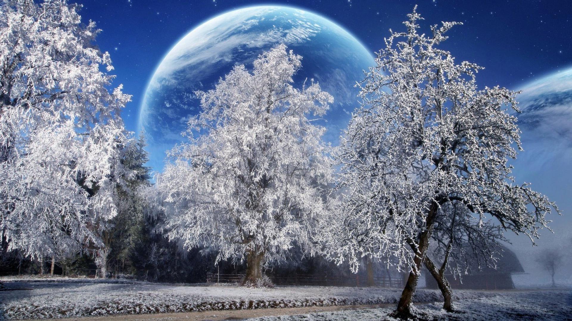 все живые картинки на рабочий про зиму преимущество