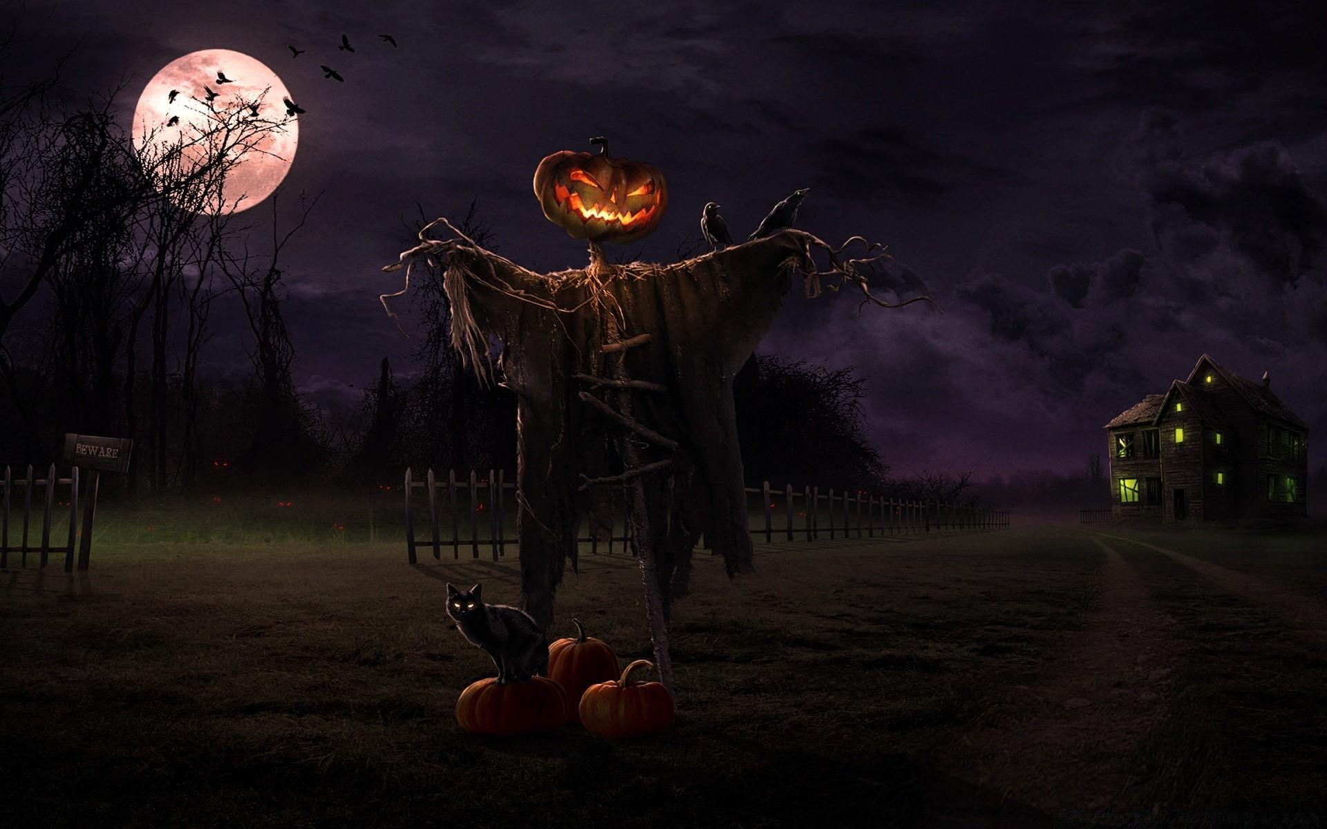 Картинки с хэллоуина страшные, прощание