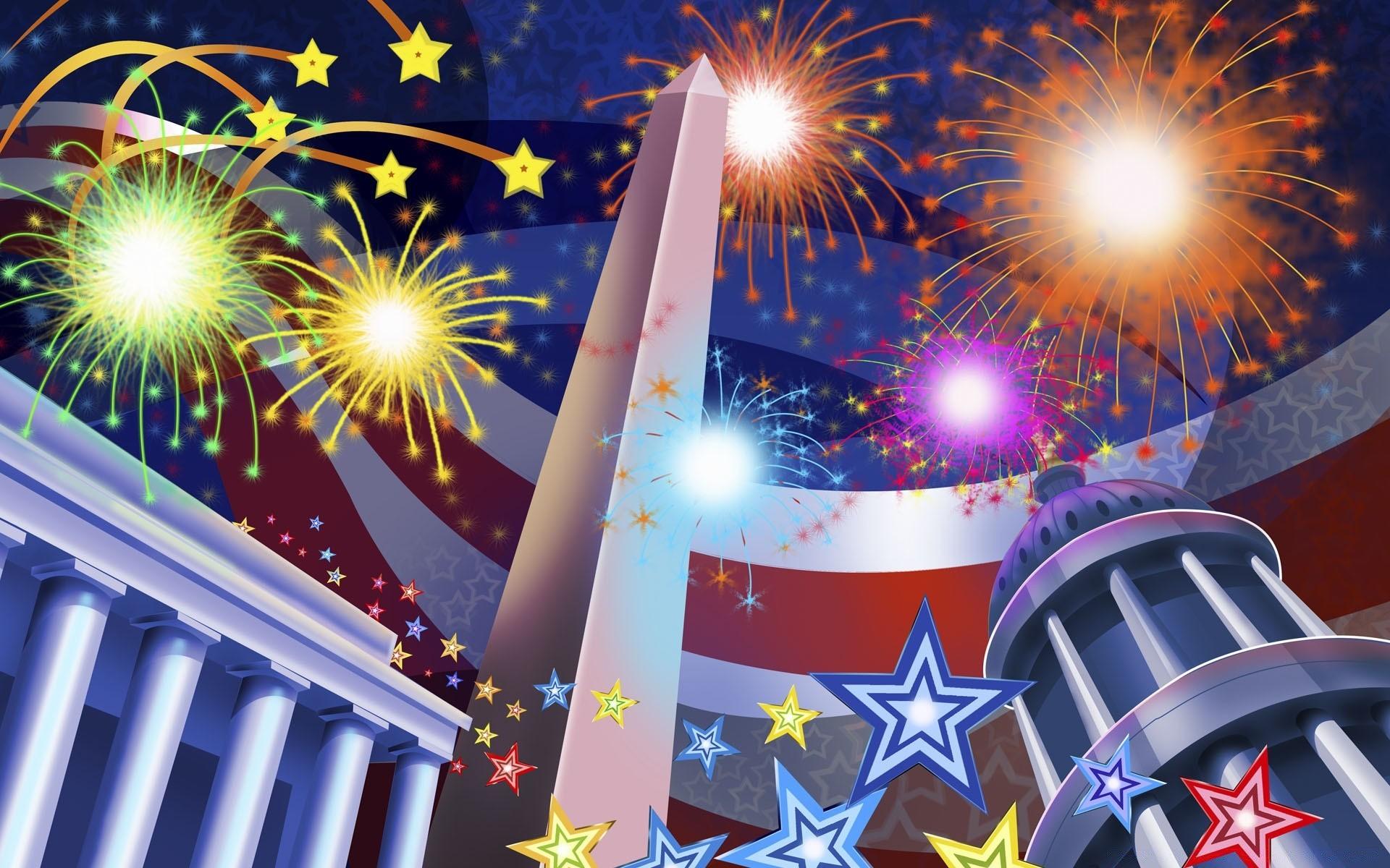 Открытка, открытка ко дню независимости америки