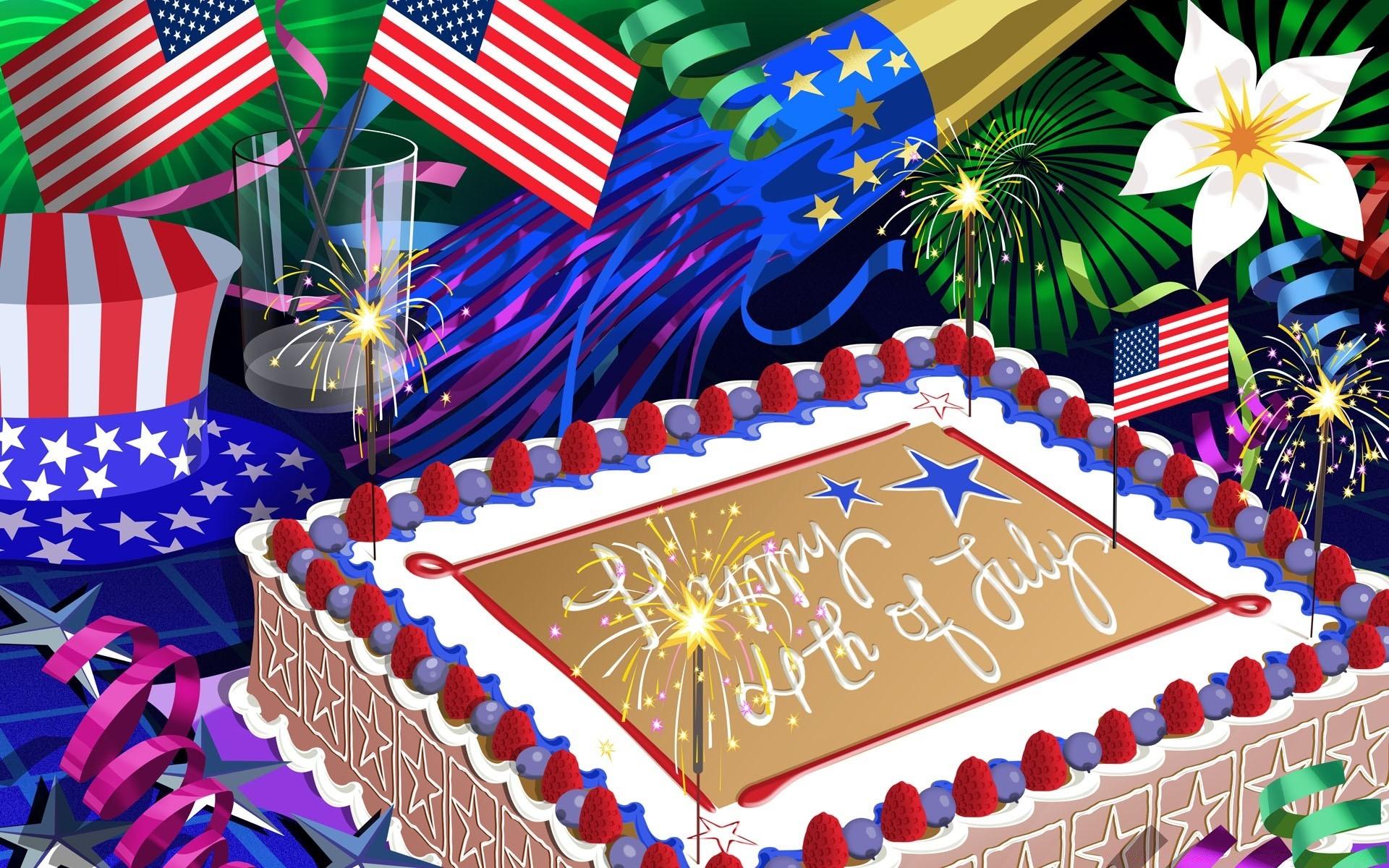 Картинка с днем рождения америка