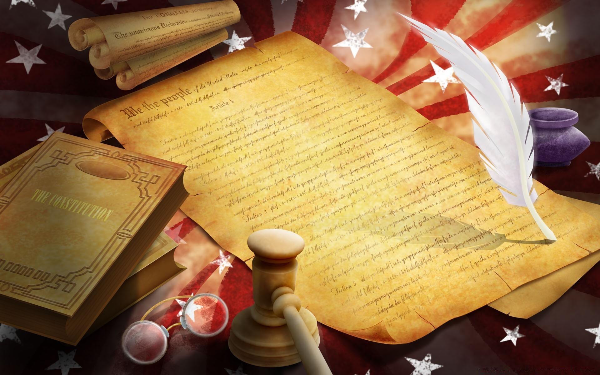 the constitution versus the declaration of