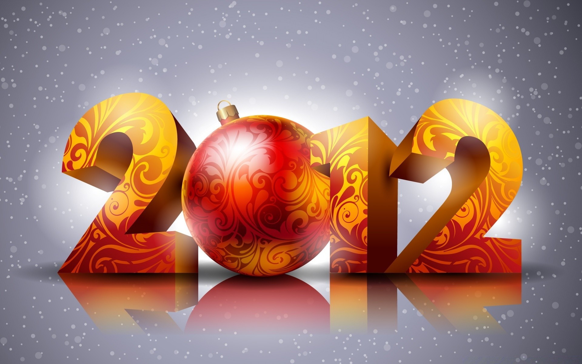 Новогодние открытки на 2011