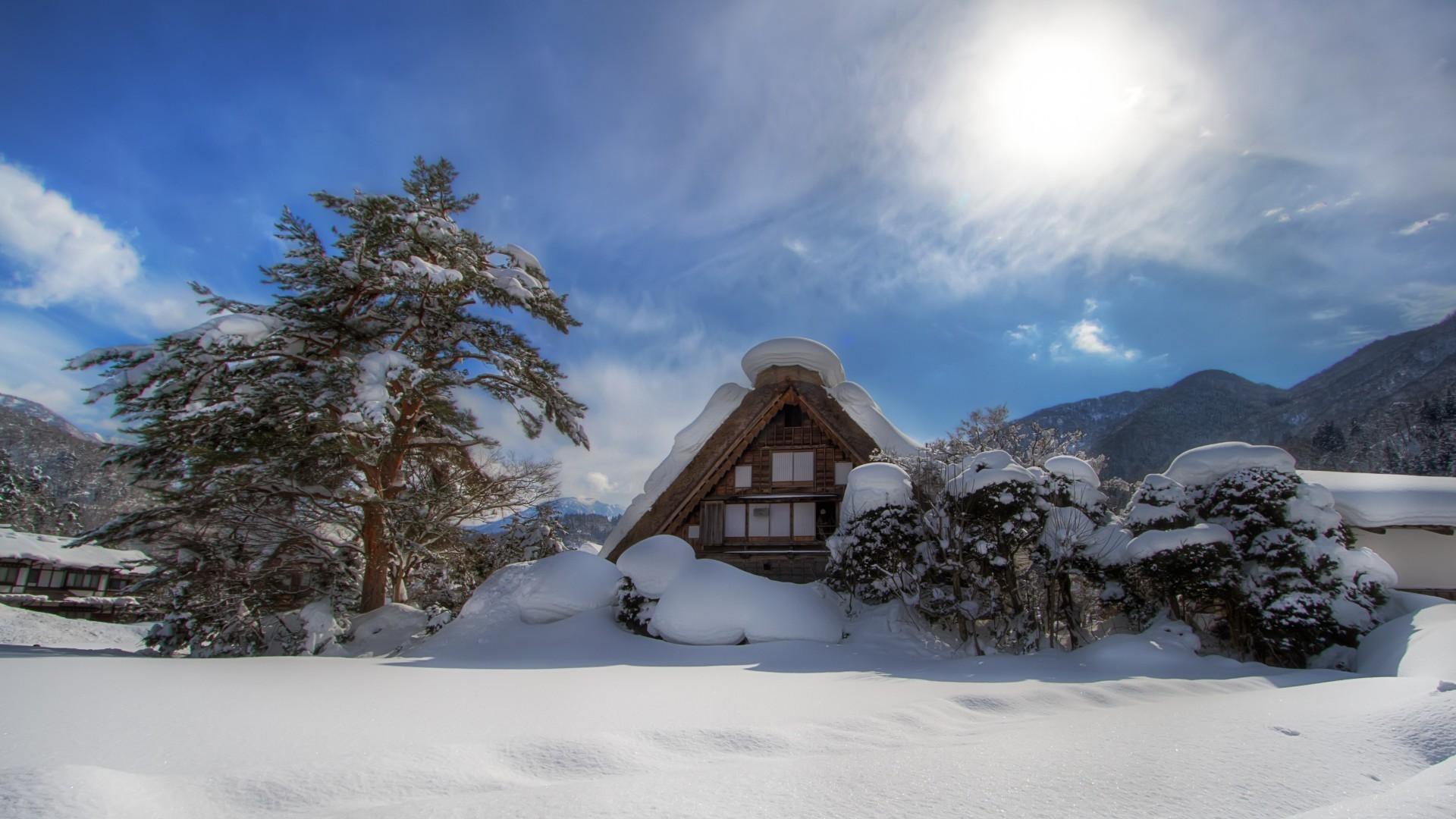 зимний пейзаж с виллой фото каждой