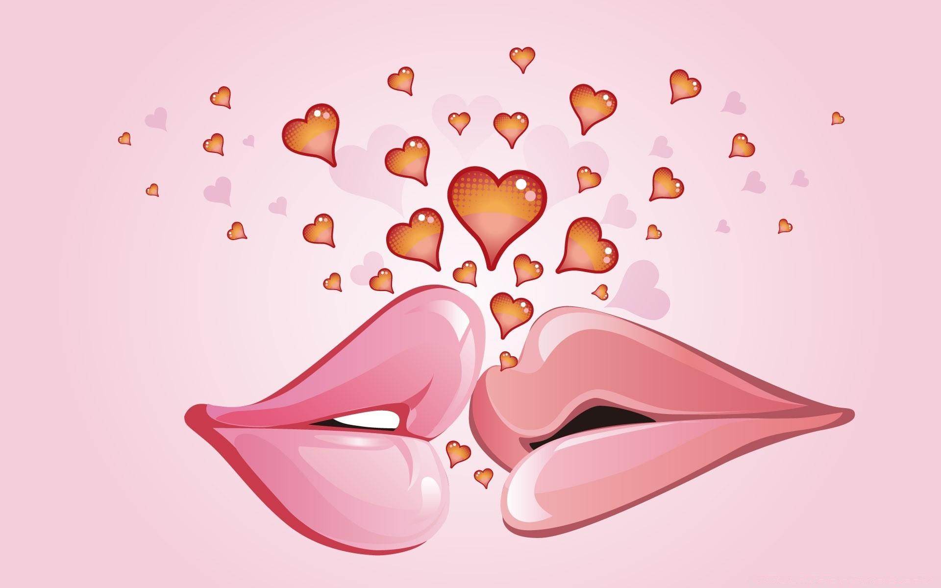 Мартом коллегам, открытки на телефон поцелуй