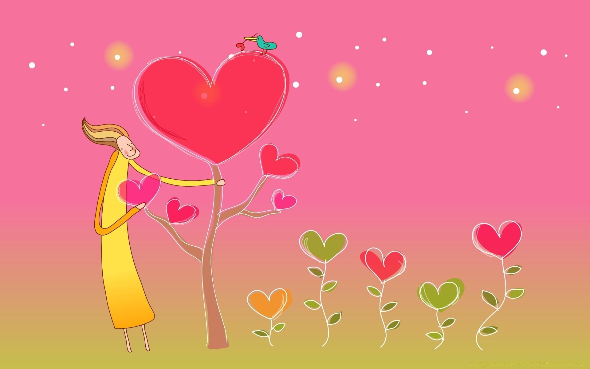 День любви рисунок
