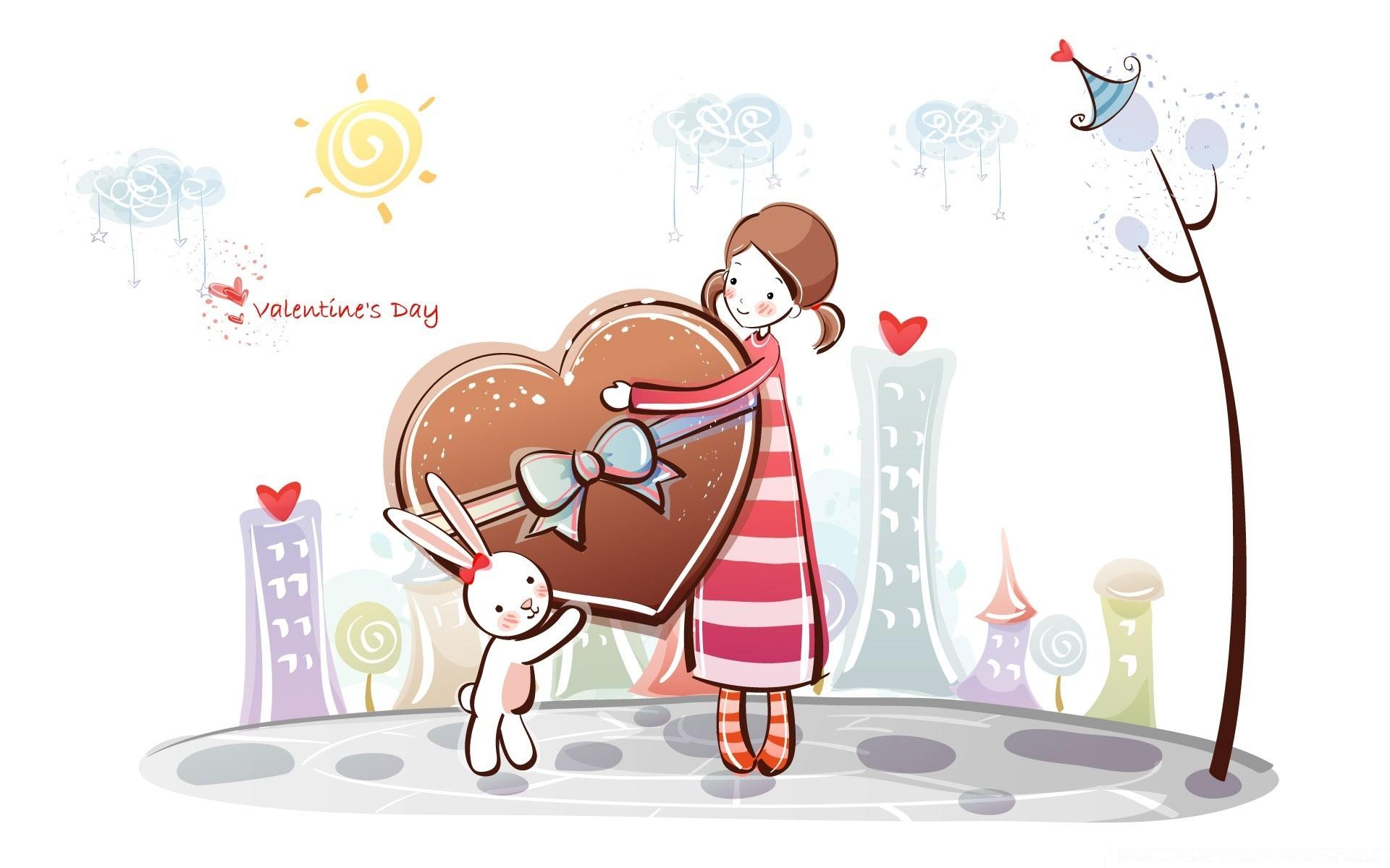День святого валентина картинки маме