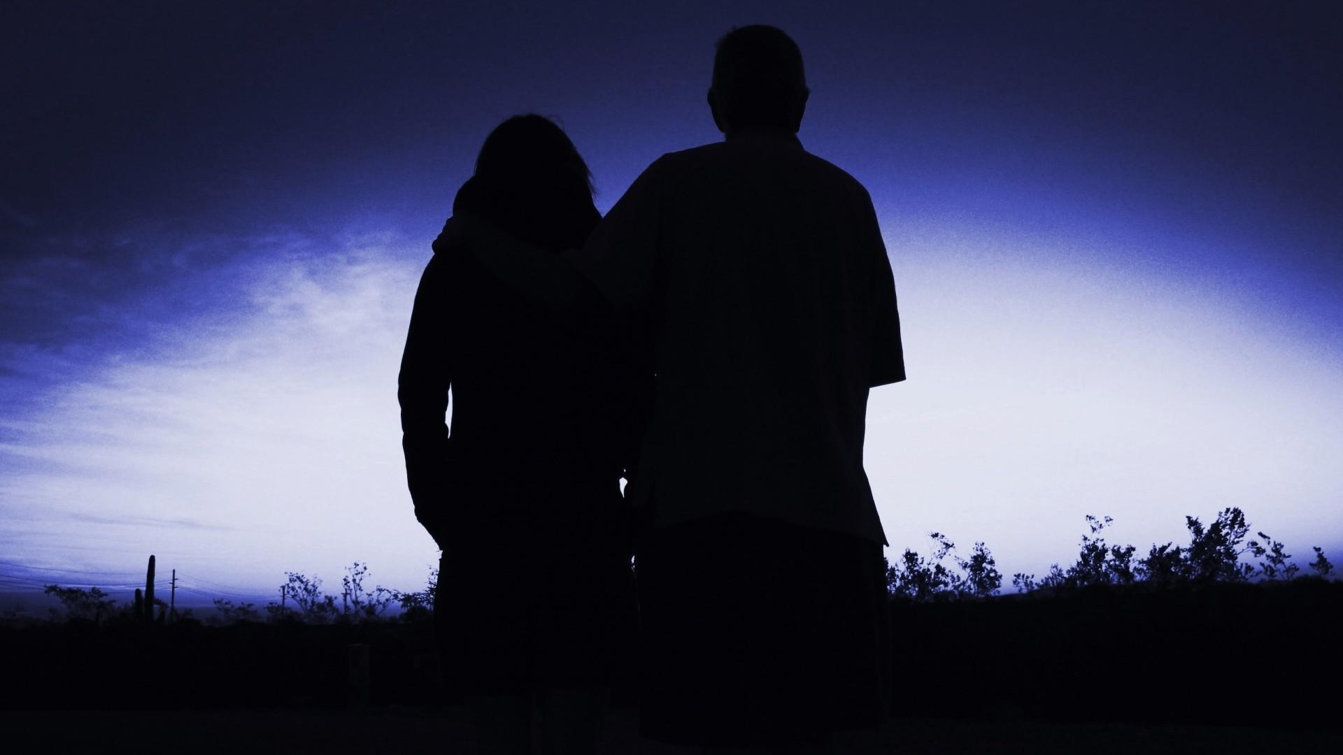 Картинки ночью с парнем
