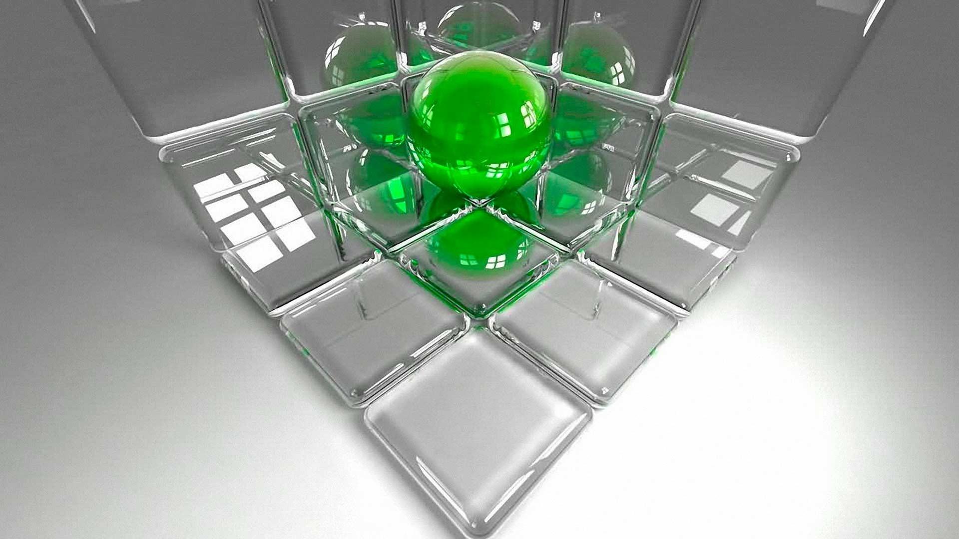 Стеклянный куб Apple смотреть