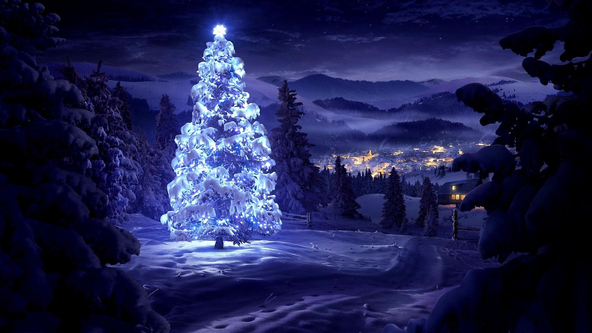 новый год дом ель ночь new year the house spruce night без смс