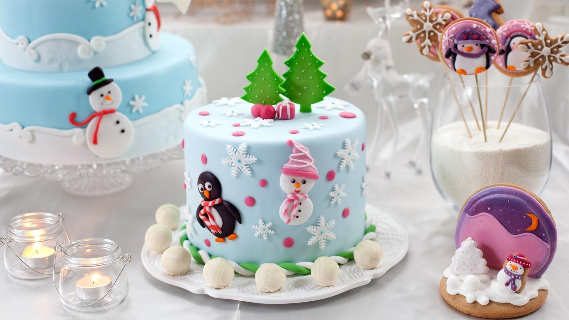 Торт на новый год 2018 в домашних условиях