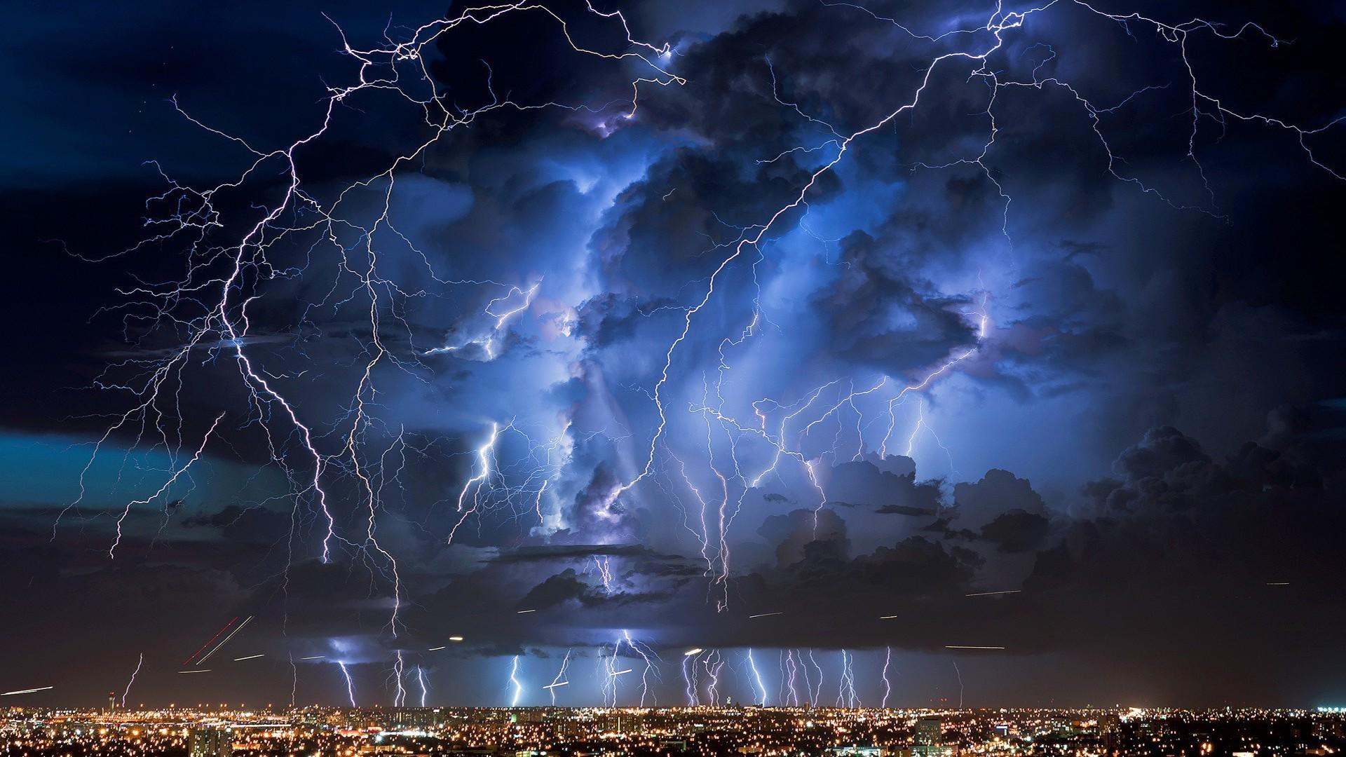 картинки рабочего стола молния