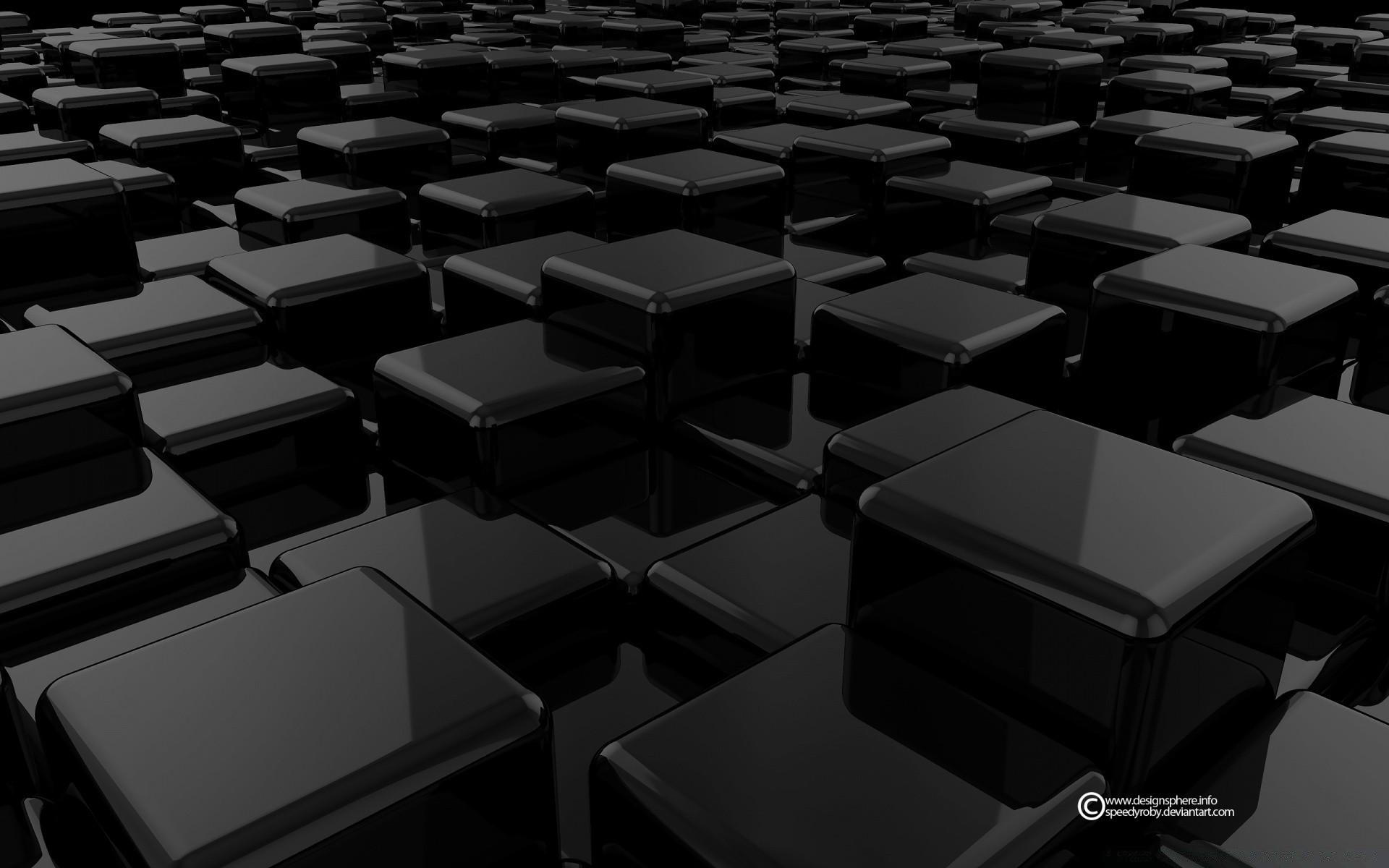 смола картинка для рабочего стола черные кубы нарисовать кота