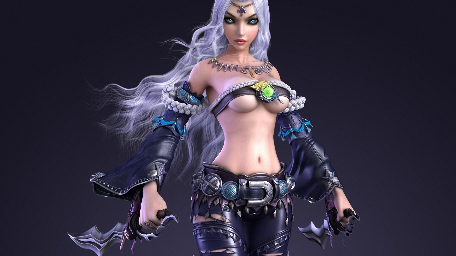 Сексуальная женщина воительница