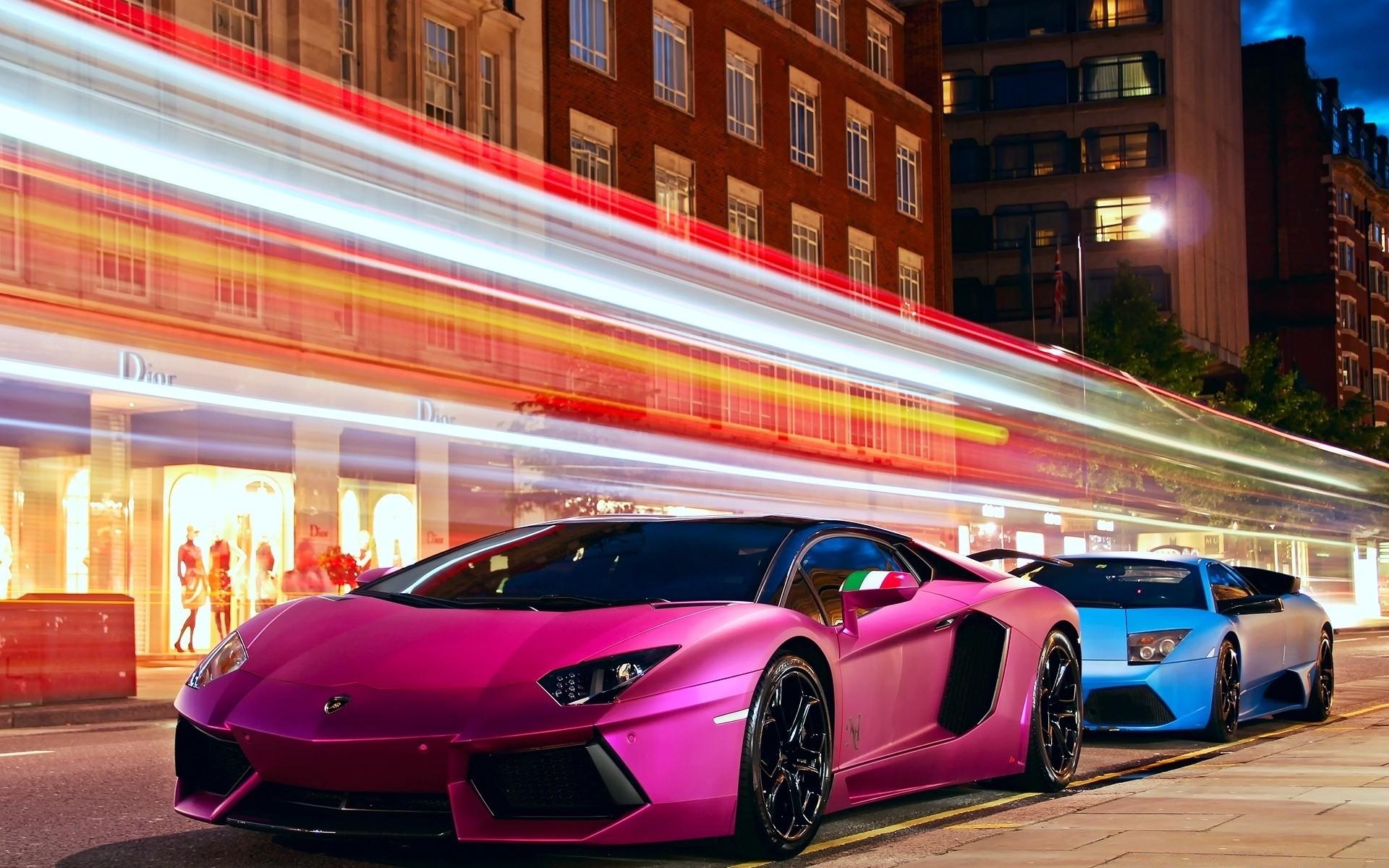 Красочные фото машин