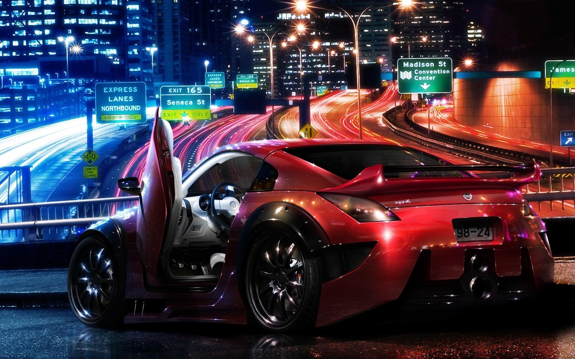 красивые картинки фэнтези автомобили хотела