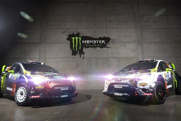 Кен Блок Monster Energy Ford Fiesta WRC