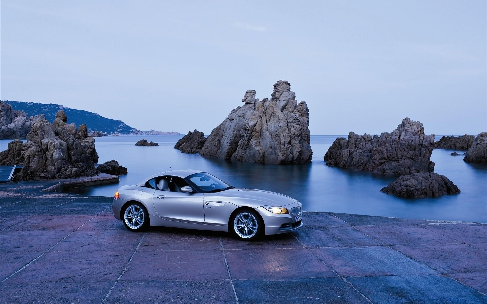 черный автомобиль BMW Z4 скачать