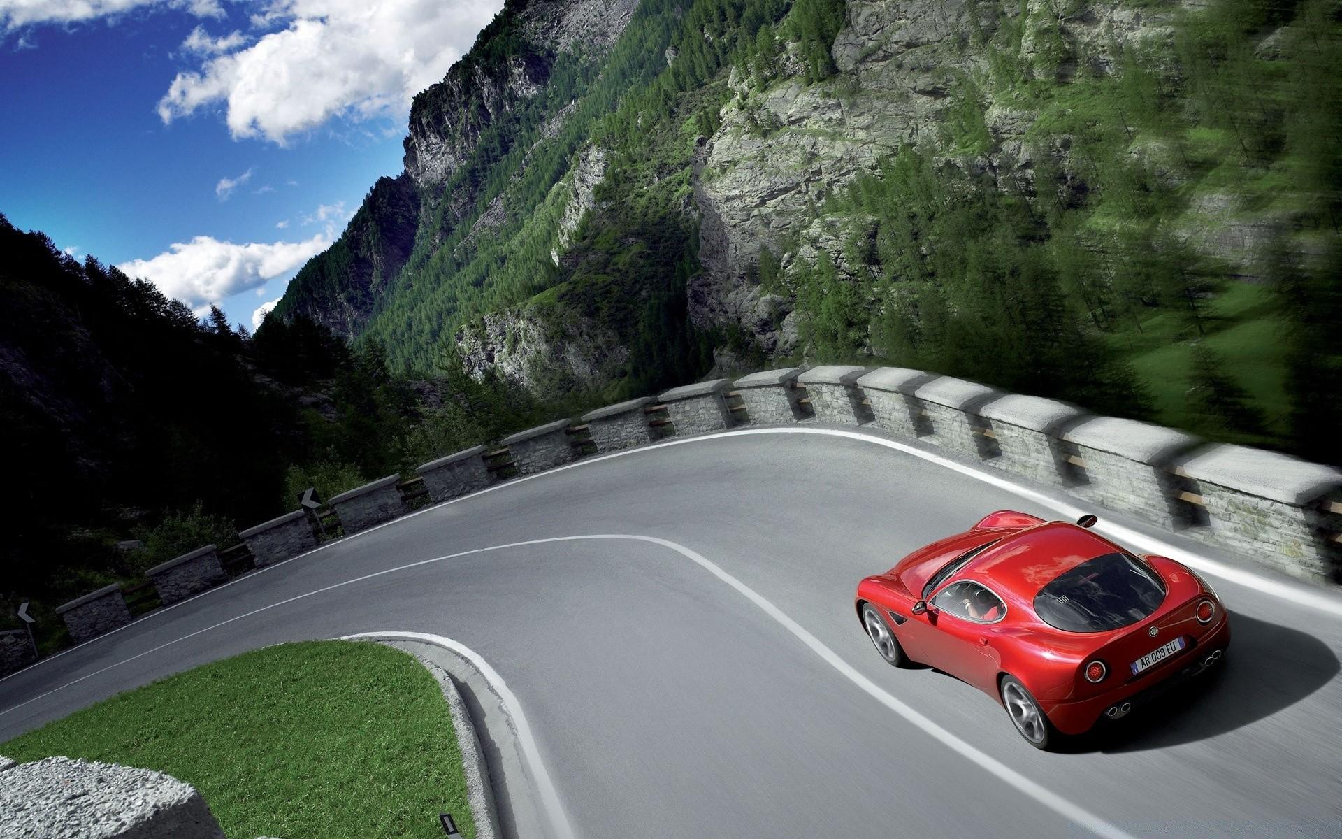 автомобиль на дороге картинка для кадильные